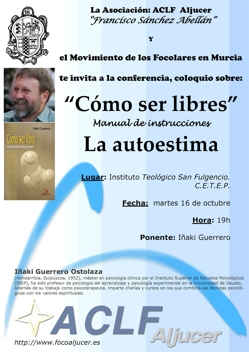 Cartel conferencia CETEP